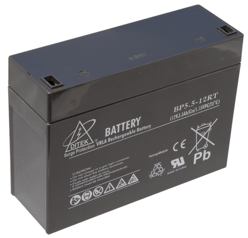 Ditek DTK-B12RT Replacement Battery