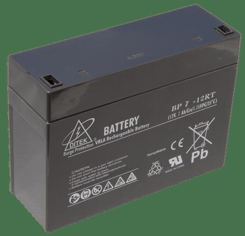 Ditek DTK-B12RT7 Replacement Battery