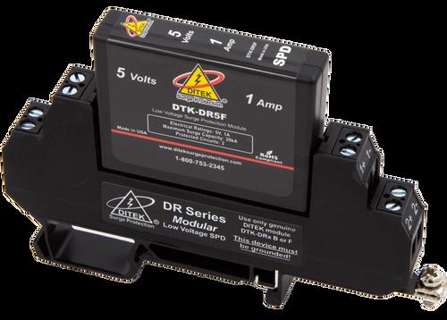 Ditek DTK-DR5F Low Voltage DIN Rail Surge Protector