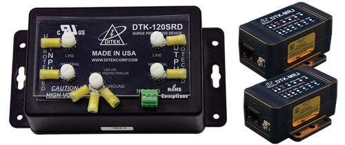 Ditek DTK-FPK2 Fire Alarm System Surge Protection Kit