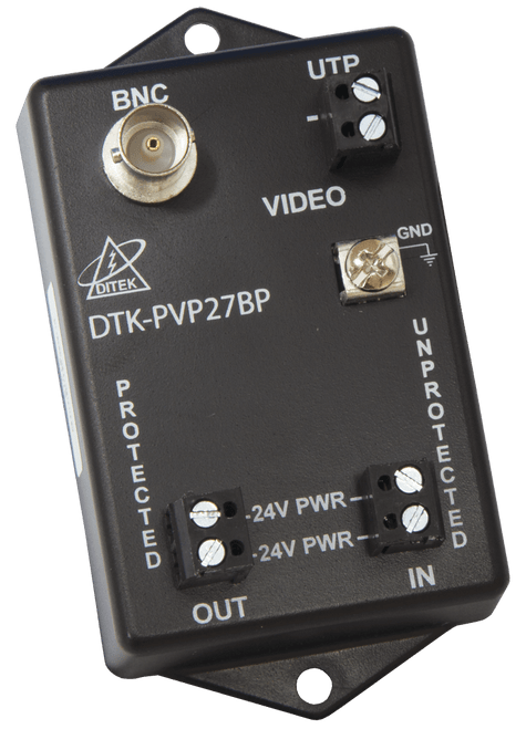 Ditek DTK-PVP27BP Fixed Camera Coax Surge Protector