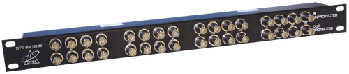 Ditek DTK-RM16NM Rack Mount High Definition Analog Video Surge Protector