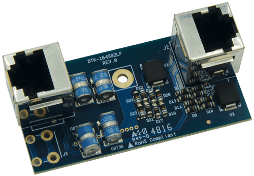 Ditek DTK-VM45POE Versa-Module Power over Ethernet Surge Protector