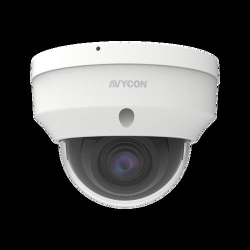 Avycon AVC-NSV81F28 8MP H.265 Fixed Vandal Dome Network Camera