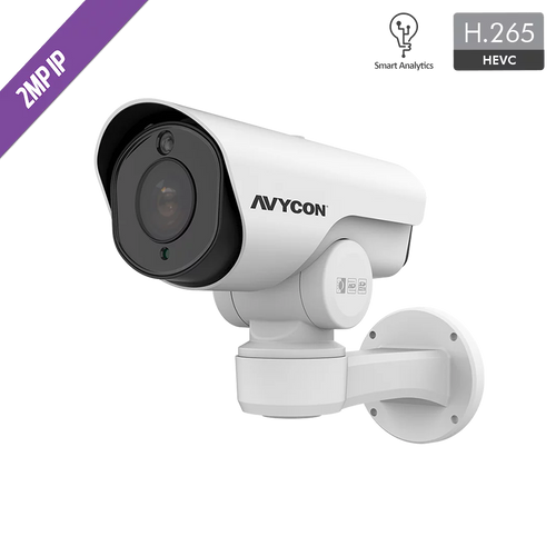 Avycon AVC-LHN21SVT-A1S 2MP Auto-Tracking PTZ & LPR Bullet IP Camera