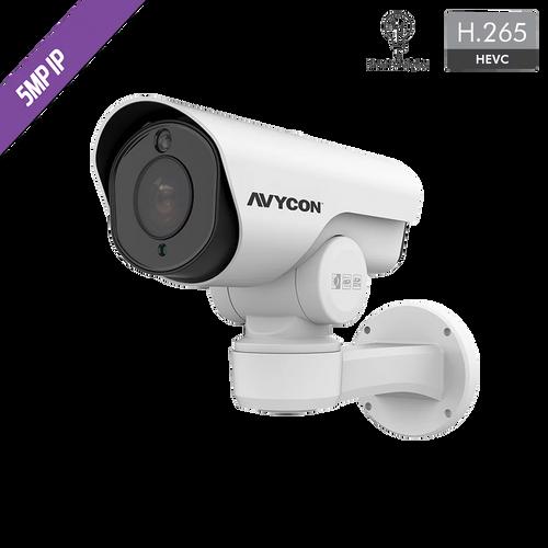 Avycon AVC-LHN51SVT-A1S 5MP Auto-Tracking PTZ & LPR Bullet IP Camera