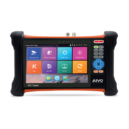 "Avycon AIVO-70A4K 7"" All-In-One Network & Camera Tester"