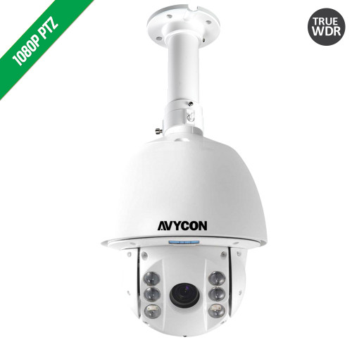 Avycon AVC-PT92X30LC HD-TVI In/Outdoor 30X IR PTZ Camera
