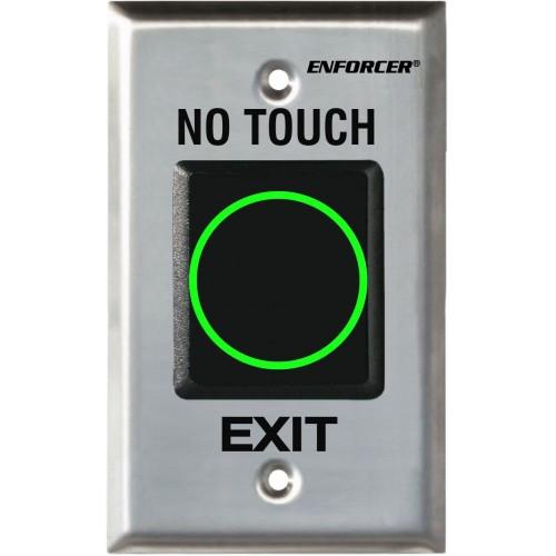"Seco-Larm SD-927PKC-NEQ ""No Touch"" RTE IR Sensor, Single-Gang Sensor Plate - English"