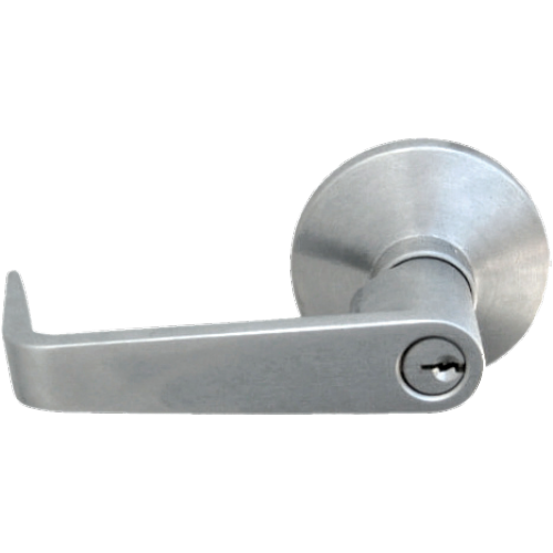 Seco-Larm SD-962HL-4A Entry-Type Lever Trim for Rim-Type Exit Devices on Exit Doors