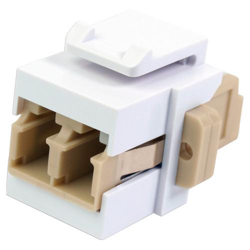 Quest NKJ-3308 LC Fiber Optic (F-F) Keystone Insert