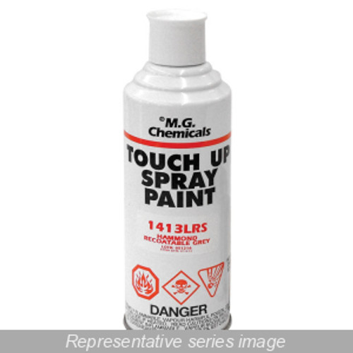 Hammond Manufacturing 1413BKS Black Touch-Up Spray Paint