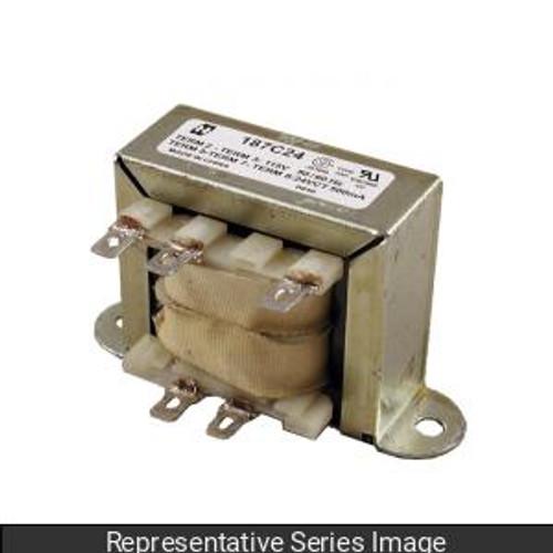 Hammond Manufacturing 187B24 Transformer, chassis mount, 115VAC, 6VA, 24V C.T.@0.25A, 187 Series