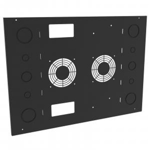 Hammond Manufacturing SDC9UCFP 9U SDC Door