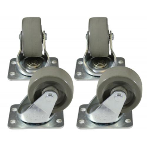 Hammond Manufacturing 1425PHD Light Duty Caster Set