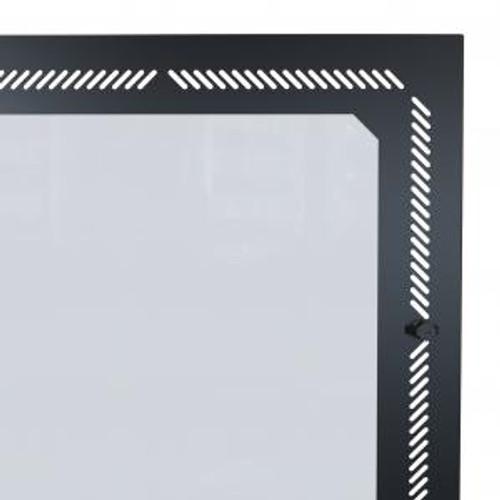Hammond Manufacturing RCSC19021WDBK1 12U Vented Window Door