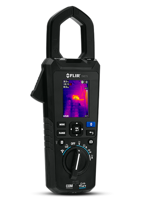 FLIR CM275 Industrial Thermal Imaging Clamp Meter with Datalogging, Wireless Connectivity and IGM