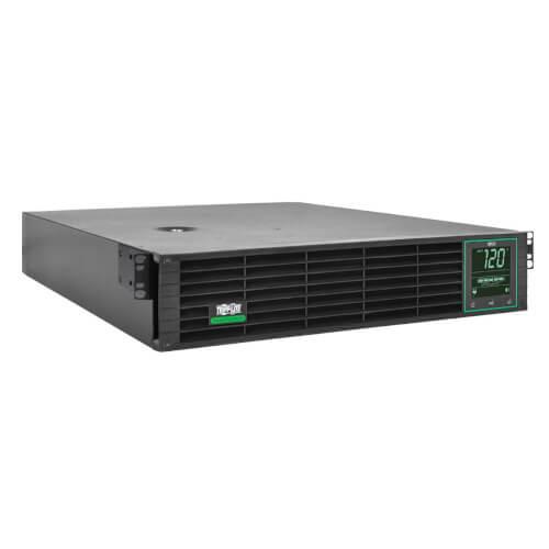 Tripp-Lite SMART3000RM2UL SmartPro UPS, Lithium Battery Backup - 120V 3kVA Line Interactive, 2U, Sine Wave, LCD, Energy Star
