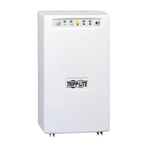 Tripp-Lite SMART700HGL SmartPro 120V 700VA 450W Medical-Grade Line-Interactive Tower UPS with 4 Outlets, Full Isolation, USB, Lithium Battery