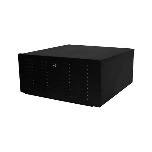 Quest SE0920-21-02 Black Vented DVR Security Enclosure