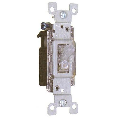 Morris 82045 Back Lit Single Pole 15A-120/277V Toggle Switch