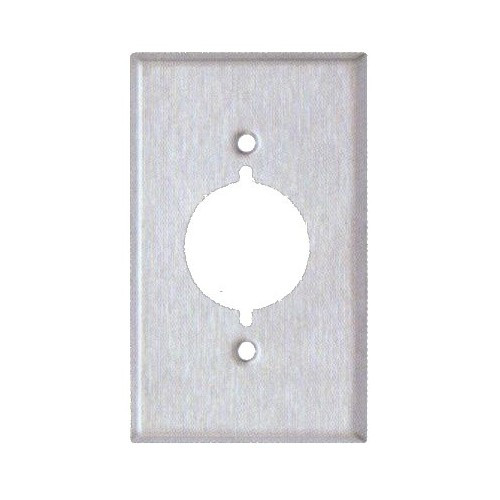 Morris 83480 Stainless Steel 1 Gang Range/Dryer Wall Plate