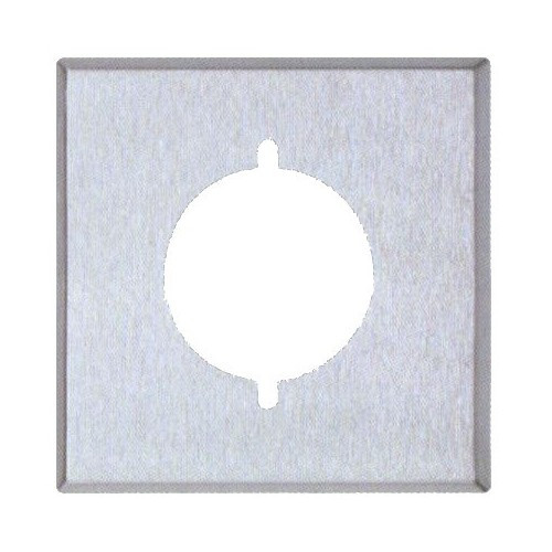 Morris 83485 Stainless Steel 2 Gang Range/Dryer Wall Plate