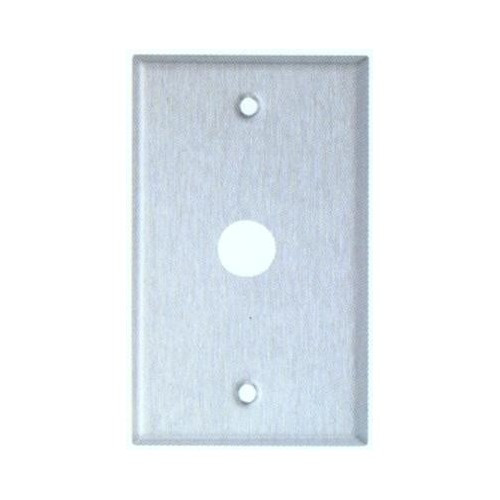 Morris 83760 Stainless Steel 1 Gang Phone/Cable Oversize Wall Plate