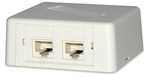 SignaMax SMMB-1-WH 1-Module Surface Mount Box White