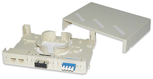 SignaMax SMMB-3F-WH 3-Module Surface Mount Box White