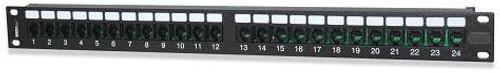 SignaMax 48114-C3MU 48-Port Cat 3 RJ-11 4W Telco Patch Panel, USOC, Male