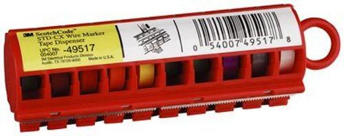 3M STD-CX ScotchCode Wire Marker Tape Dispenser with Tape