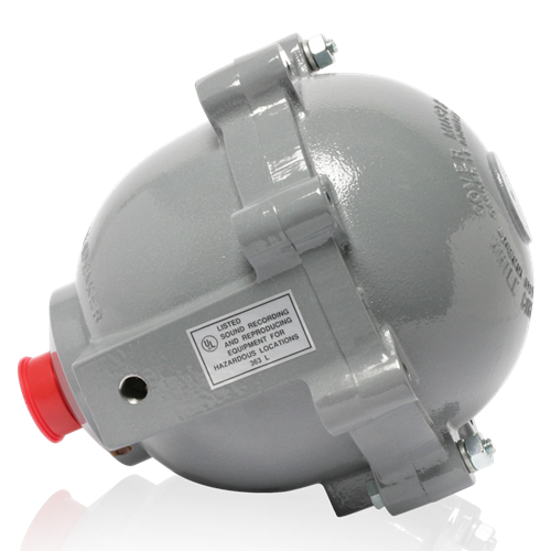Atlas MLE-3T UL Listed Explosion-Proof Driver With 30-Watt 70V Transformer For Use In Hydrogen Environments
