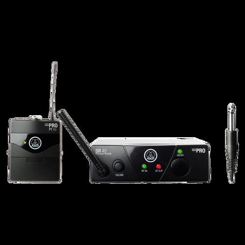 AKG WMS40MINI Instrumental Set BD US25A  Wireless Microphone System