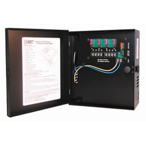 Preferred Power P3DC12-4-1 CCTV Power Supply - 12VDC, 4 Output, 1 Amp