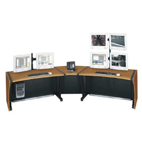 "Middle Atlantic LD-6430PS 64"" LCD Monitoring Desk"