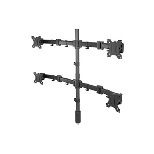 Middle Atlantic MM3-2X2BLK 2 Level Articulating Monitor Mount