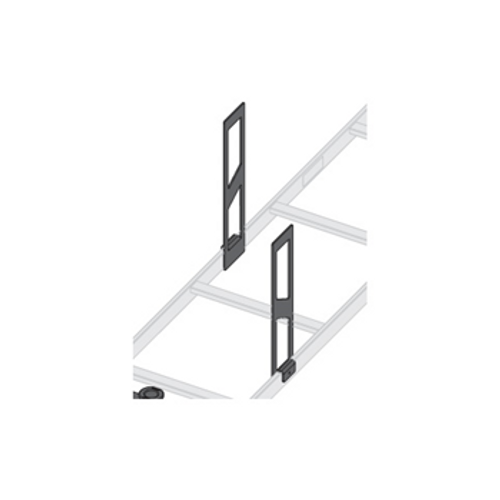 """Middle Atlantic CLH-SS-12-2 2 Piece 12"""" H Ladder Side Stand-Off"""