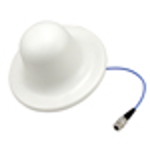 L-Com HG75805CUPR-NF 698-960/1710-2700/4900-6000 MHz Low PIM Rated Ceiling Mount DAS Antenna - N-Female