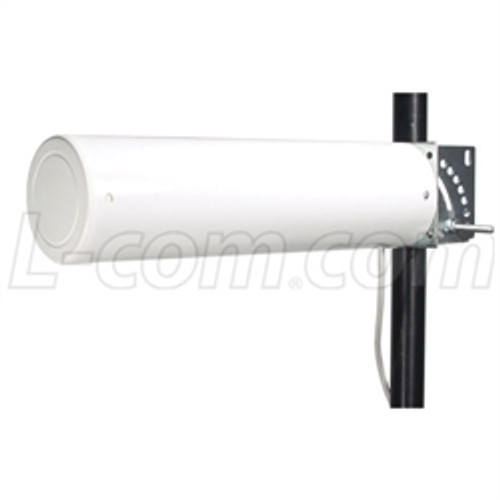 L-Com HG2412Y-RSP 2.4 GHz 12 dBi Yagi Antenna - 12in RP SMA Plug Connector