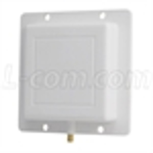 L-Com HG4953P 4.4 GHz to 5.5 GHz 8 dBi Broadband Patch Antenna