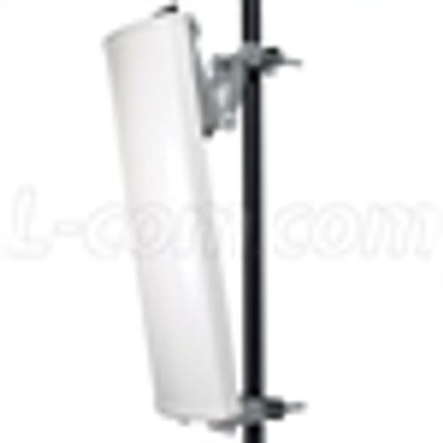 L-Com HG3517DP-090 3.5 GHz 16 dBi 90_ Dual Polarized Sector Panel Antenna