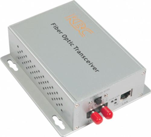 KBC FTLS1-M1A-WSA 10/100Mbps PoE Ethernet LAN Fiber Optic Media Converter