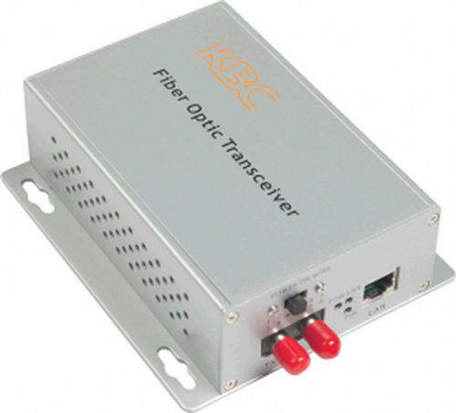 KBC FTLS1-S2-WSA 100Mbps PoE Ethernet LAN Fiber Optic Media Converter