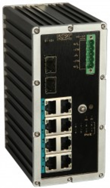 KBC ESUGS8-P2-L-B Industrial Ethernet Unmanaged Switch