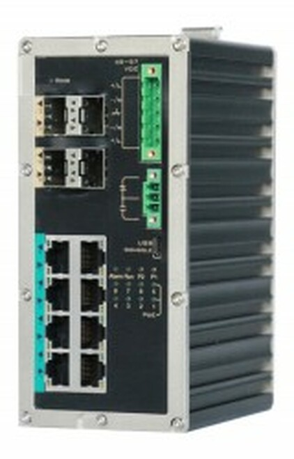 KBC ESMGS8-P4-B Industrial Ethernet Layer 2 Managed Switch