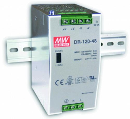 KBC DR120-48 120W DIN Rail Power Supply