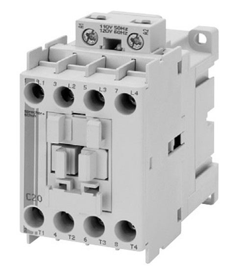 Sprecher & Schuh CAL7-20-M40-120-L11 Lighting Contactor with AC Coil
