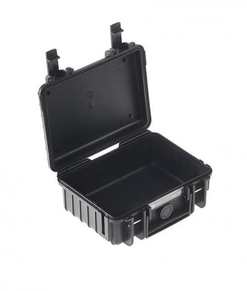 B&W 500/B Type 500 Black Outdoor Waterproof Case