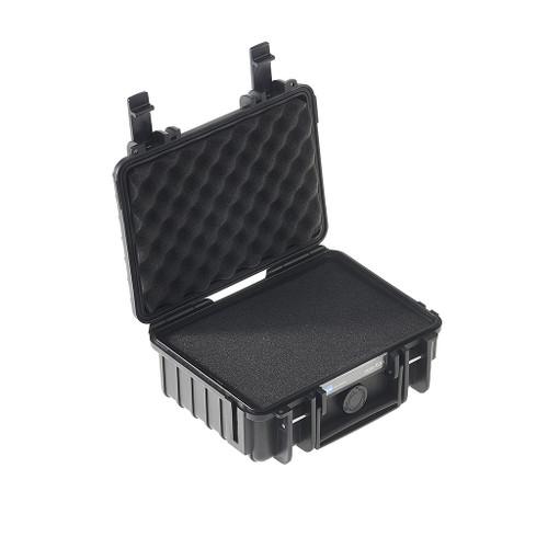B&W 500/B/SI Type 500 Black Outdoor Waterproof Case